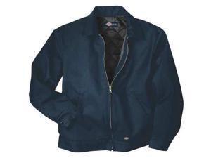 DICKIES TJ15DNL Jacket,Insulated,Poly/Cotton,Navy,L