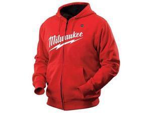 MILWAUKEE 2371XL Heated Hoodie Kit, M, Red, XL