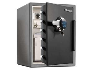 Black/Gray Fire Safe, 2.05 cu. ft. Capacity, SFW205GRC, Sentry Safe