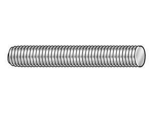 4RED1 Threaded Stud, 304 SS, 1/4-20x3-1/2, PK10