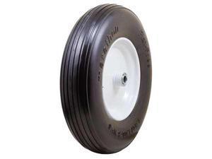 MARATHON 00063 Flat Free PU Wheel, 4.80/4.00-8, 450 lb.
