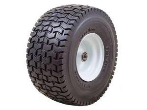 MARATHON 30426 Flat Free PU Wheel,15x6.50-6,400 lb.