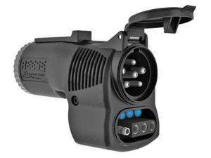 REESE 85350 Adapter, 7-Way Blade to 6-Way, 4-Way Flat