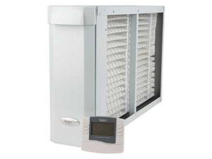 APRILAIRE 3410 Media Air Cleaner, 15-7/16 In., Gray