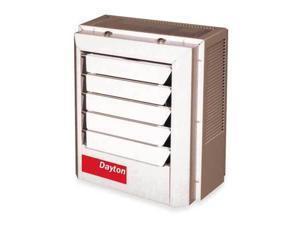 DAYTON, 2YU62, Electric Unit Heater,5.0/3.7 kW,240/208V