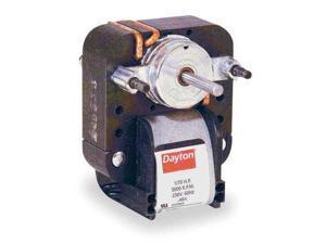 DAYTON 4M068 C-Frame Motor, Shaded Pole, Sleeve, 1 In. L