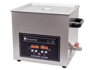 GRAYMILLS BTV-020 Digital Parts Washer, .5 Gal.