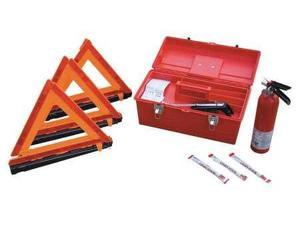 CORTINA 95-04-09G Roadside Emergency Kit, 8 Piece