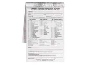 JJ KELLER 117-B Vehicle Inspection Form, 2 Ply, Carbonless