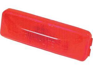 TRUCK LITE CO INC 19200R Clearance/Marker, Rectangle, Red