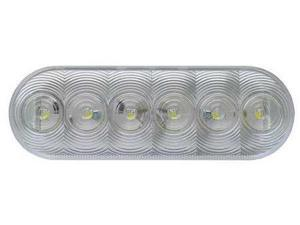 OPTRONICS BUL12CBPG Back-Up Lamp, Clear, Oval