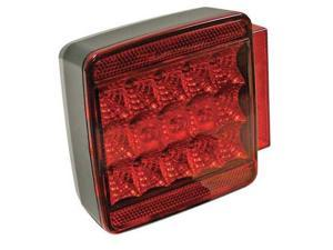 REESE 73853 Submersible LED, Red, Square
