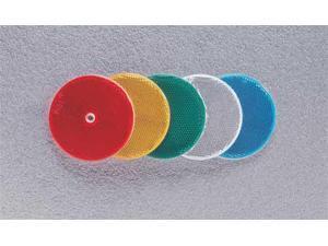 41-0035-20 Color Reflector, Round, White