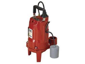 LIBERTY PRG102A Grinder Pump, Automatic, 230V