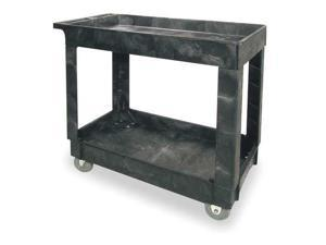 Utility Cart, FG9T6600BLA, Rubbermaid