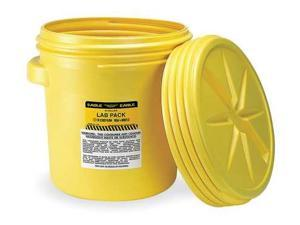 EAGLE 1650 Salvage Drum, Open Head, 20 gal., Yellow