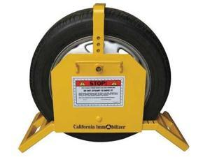 CALIFORNIA IMMOBILIZER CI00530 Wheel Clamp Type 1, 18 to 24 In. Wheel
