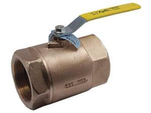 2-Piece Ball Valve, Lead-Free Bronze, 70LF14301, Apollo