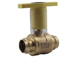 2-Piece Ball Valve, Low-Lead Bronze, 77WLF10611, Apollo