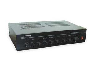 SPECO TECHNOLOGIES PMM120A Amplifier,120W,Mixer