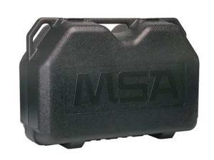 MSA 492435 Hard Carrying Case, Black, Polyethylene