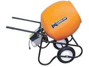 KUSHLAN PRODUCTS 600DD Wheelbarrow Mixer,6 cu ft,115V,3/4HP