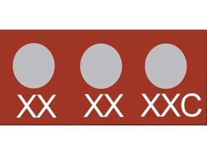 WAHL 430-181F Non-Rev Temp Indicator, Mylar, PK10
