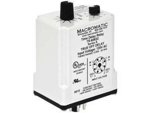 VAKP012D MACROMATIC Voltage Sensor Relay,12VDC,10A@240V,DPDT