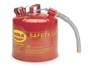 EAGLE U251S Type II Safety Can, Red, 5 gal