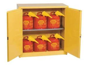 Flammable Liquid Safety Cabinet, Yellow ,Eagle, 1932SC6