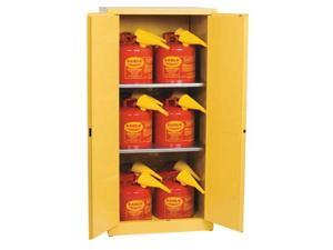 Flammable Liquid Safety Cabinet, Yellow ,Eagle, 1962SC12