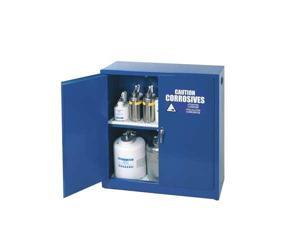 EAGLE CRA-32 Corrosive Safety Cabinet, 30 gal., Blue
