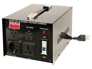 DAYTON 16V988 Step Up/Down Transformer, 3 KVA