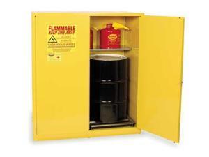 Vertical Drum Safety Cabinet, Yellow ,Eagle, HAZ1955