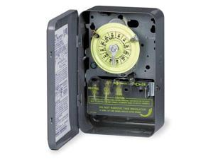 INTERMATIC T185 Timer,24 Hour,2 Pole