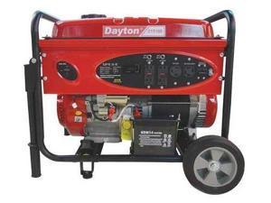 DAYTON 21R166 Portable Generator, Rated Watts6500, 420cc