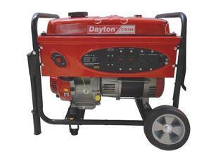 DAYTON 21R164 Portable Generator, 4000 Rated Watts