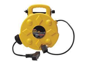 BAYCO SL8903 Cord Reel, 50 ft, 14/3, SJTW, Yellow