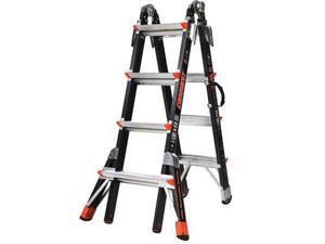 Little Giant 17 ft. Fiberglass Multipurpose Ladder , 15144