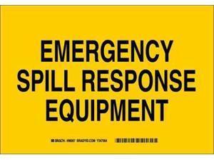 BRADY 96087 Chemical & Hazardous Materials Sign