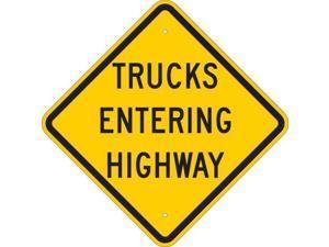 "Traffic Sign, Brady, 124601, 24""Hx24""W"