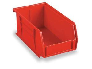 AKRO-MILS 30240RED Hang/Stack Bin, 7 x8 1/4 x14 3/4, Red