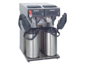 Dual Airpot Coffee Brewer, Stainless Steel ,Bunn, CWTF Twin APS