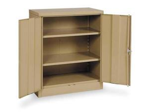 Counter Height Storage Cabinet, Edsal, 1UFD2