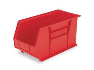 AKRO-MILS 30230RED Hang/Stack Bin, 10-7/8 x 5-1/2 x 5, Red