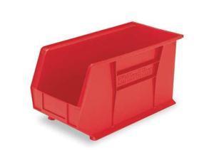 AKRO-MILS 30230RED Hang/Stack Bin, 10-7/8 x 5-1/2 x 5, Red