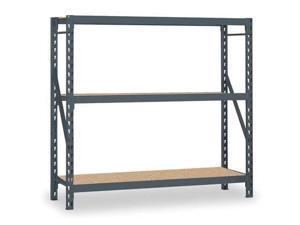 Bulk Storage Rack Starter Unit, Gray ,Edsal, ERZ601872S