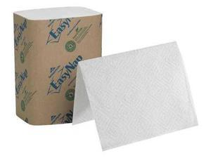 "Georgia Pacific Professional 32004 EasyNap Embossed Dispenser Napkins Two-Ply, 6 1/2"" x 9 7/8"", White, 6000/Carton"