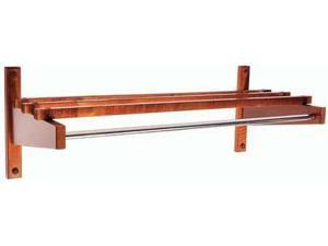 CSL FOODSERVICE AND HOSPITALITY EC-36W Coat Rack, Wood, 12-3/4 x12-1/2 x 36 In.