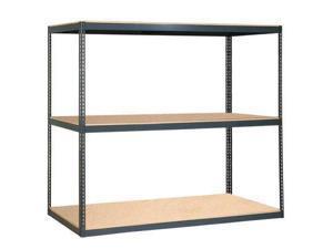 Heavy Duty Shelf, Gray ,Edsal, 1202-S1